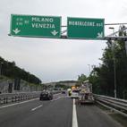 Portali a sbraccio, Autovie Venete